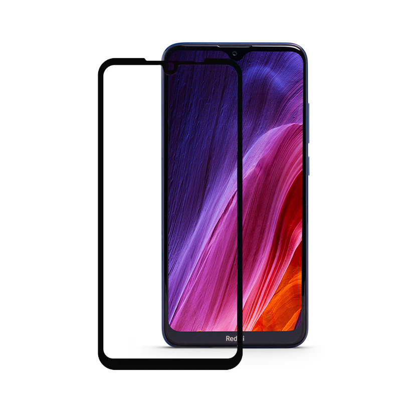 BLUEO 2,5D Full Cover HD для Xiaomi Redmi 8 (черная рамка)