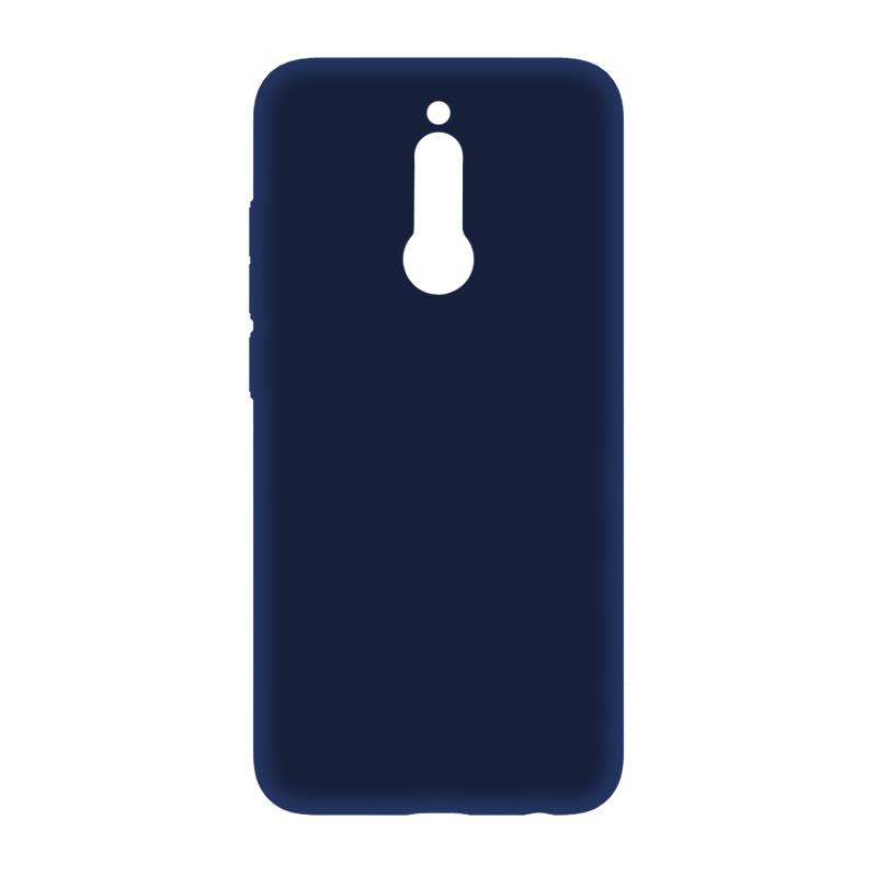 BoraSCO Soft Touch для Xiaomi Redmi 8 (синий) фото