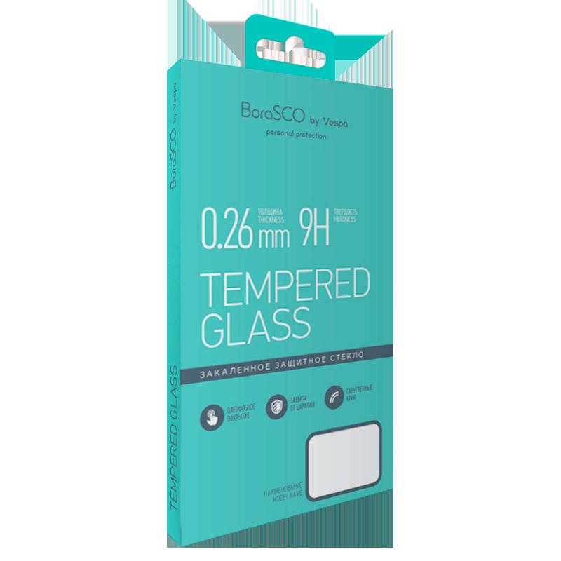 Защитное стекло BoraSCO 0,26 мм для Xiaomi Redmi 7 защитное стекло borasco full cover full glue для xiaomi redmi note 7 black