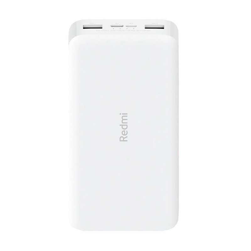 Фото - Redmi Power Bank 10000 (белый) xiaomi redmi power bank 10000 мач черный