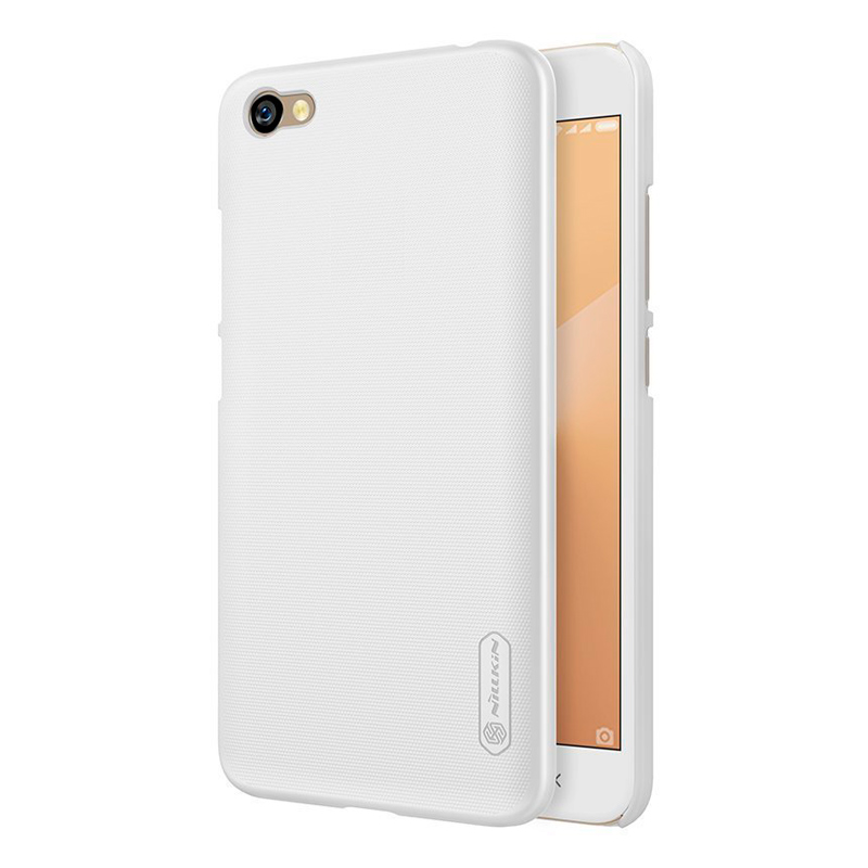 цена Чехол Nillkin Super Frosted Shield для Xiaomi Redmi Note 5A White