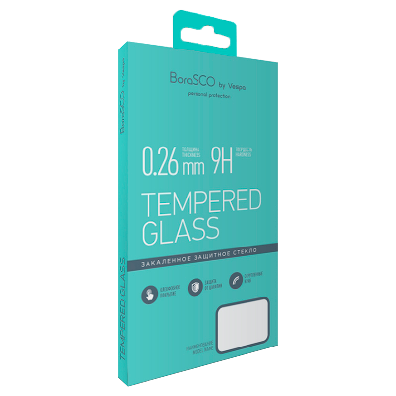 Защитное стекло BoraSCO 0,26 мм для Xiaomi Redmi 7a защитное стекло borasco vsp flex для xiaomi redmi s2