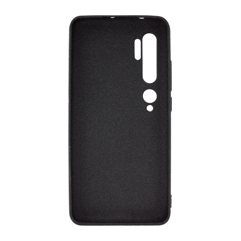 NewLevel Fluff TPU Hard для Xiaomi Mi Note 10 (черный) от Xiaomi