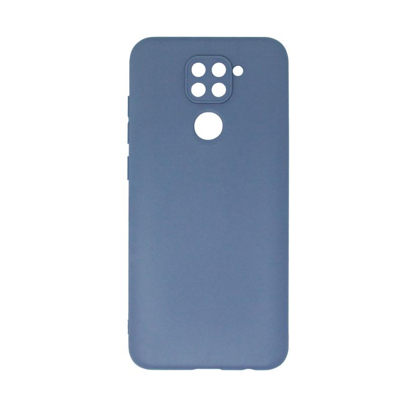 Microfiber Case для Xiaomi Redmi Note 9 (синий)