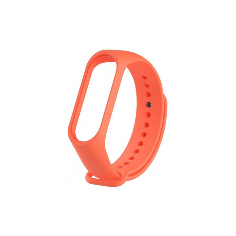 Силиконовый ремешок для Xiaomi Mi Band 3 Untamo Orange