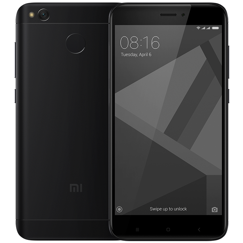 Redmi 4X 32GB Black смартфон xiaomi redmi 4x 32gb 3gb gold
