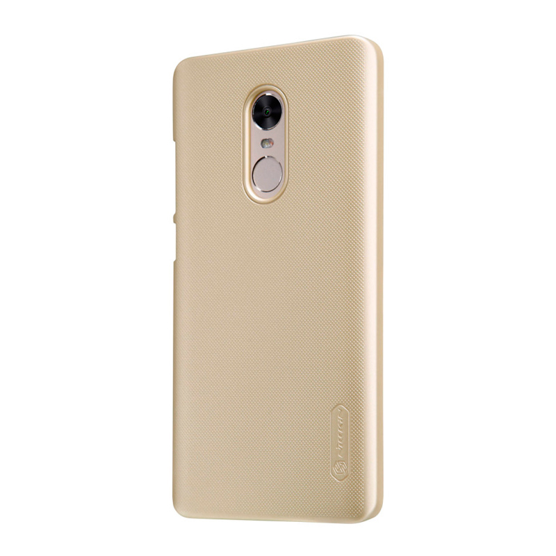 Чехол Nillkin Super Frosted Shield для Xiaomi Redmi Note 4 Gold защитный чехол nillkin super frosted shield для xiaomi mi 9 gold