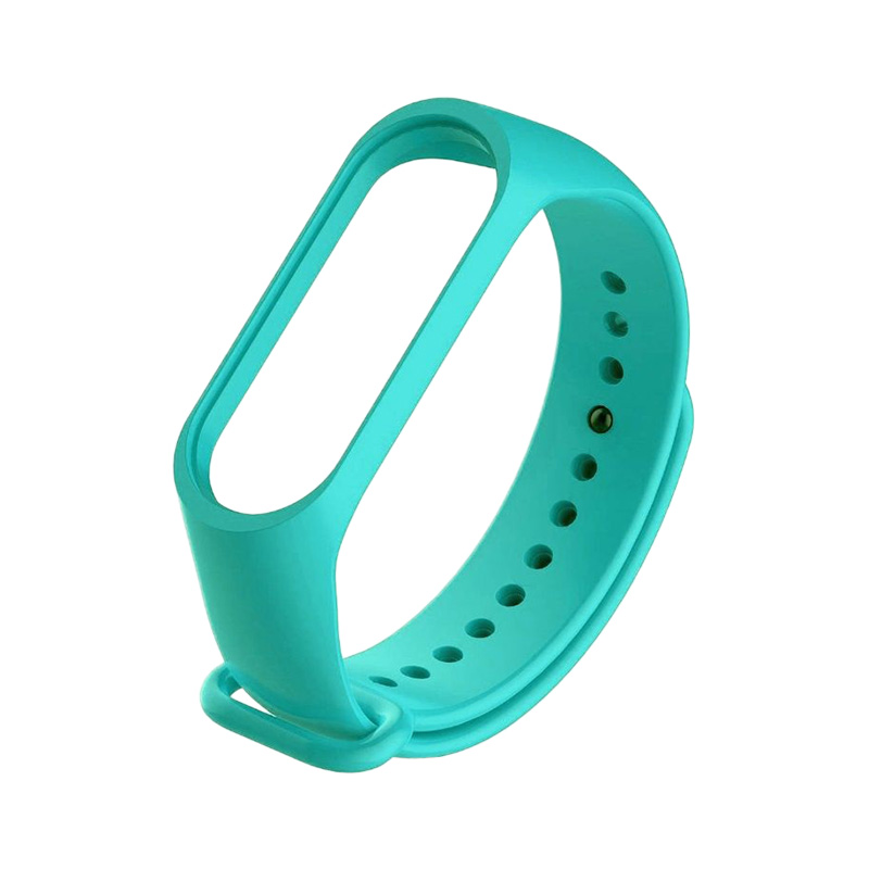 Силиконовый ремешок для Xiaomi Mi Band 3 Redline Turquoise