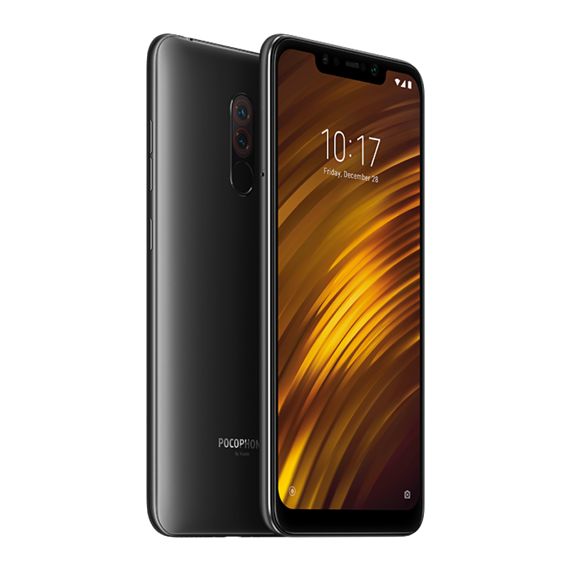 Pocophone F1 6/64 Black аксессуар чехол для xiaomi pocophone f1 innovation book silicone magnetic rose gold 13449