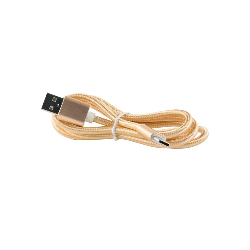 Red Line USB - Type-C 2.0 (золотой) фото
