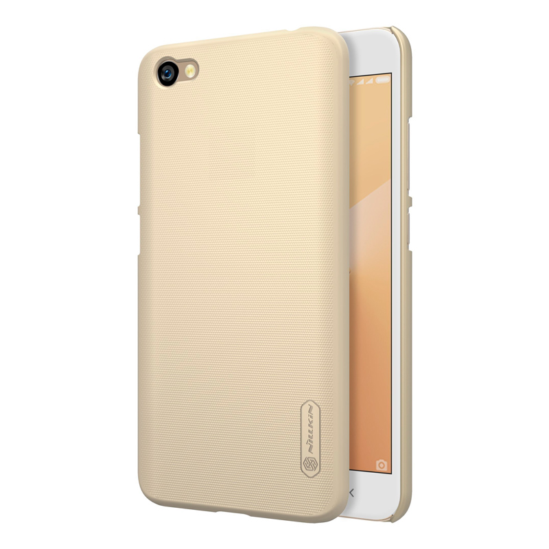 Чехол Nillkin Super Frosted Shield для Xiaomi Redmi Note 5A Gold чехол клип кейс nillkin super frosted для xiaomi redmi 4a черный