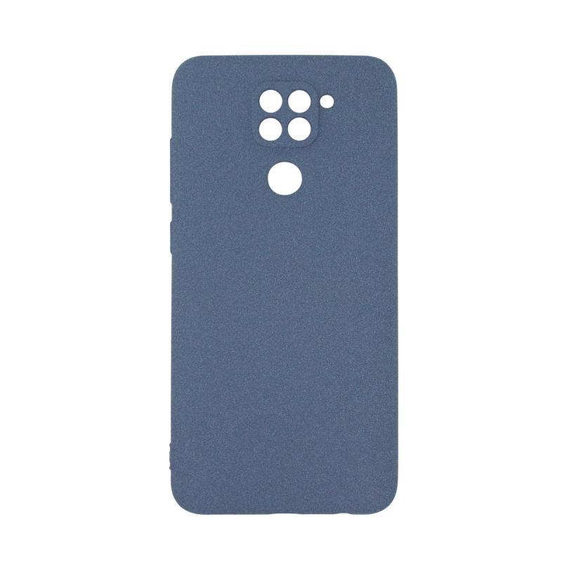 Fluff TPU Hard для Xiaomi Redmi Note 9 (синий)