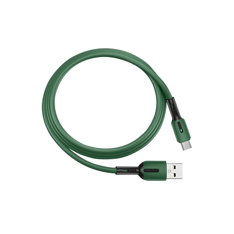 Дата-кабель Usams USB/micro USB SJ432 (зеленый)