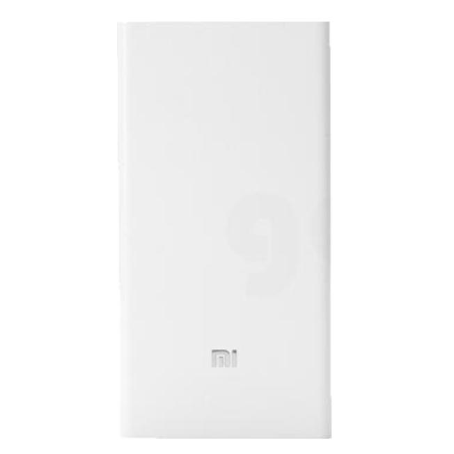 Внешний аккумулятор Mi Power Bank 2 20000 мАч White 12000mah power bank usb блок батарей 2 0 порты usb литий полимерный аккумулятор внешний аккумулятор для смартфонов white