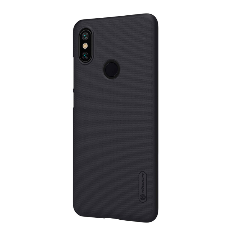 Защитный чехол Nillkin Super Frosted Shield для Xiaomi Mi A2 Black защитный чехол nillkin super frosted shield для xiaomi mi a2 white