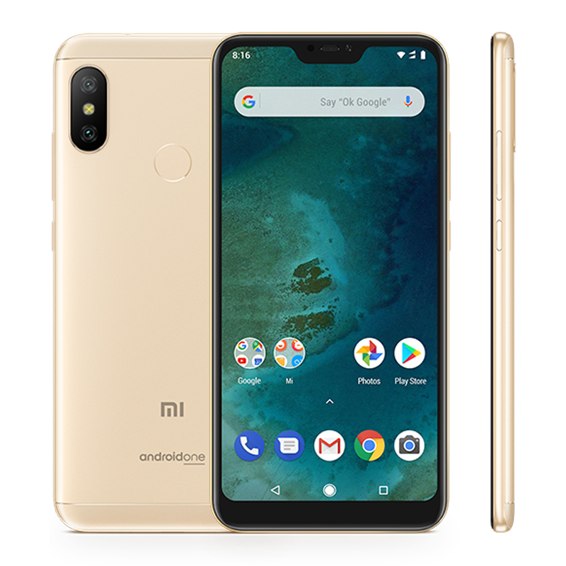 Mi A2 Lite 4/64 Gold смартфон xiaomi mi a2 4 64gb черный