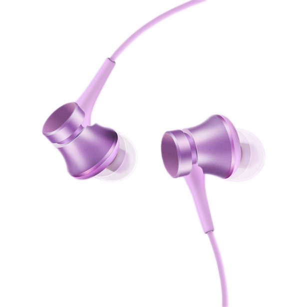 Наушники Mi In-Ear Headphones Basic Purple panasonic rp hde3mgc k in ear earphone stereo sound headphones headset music earpieces with microphone earphones super bass