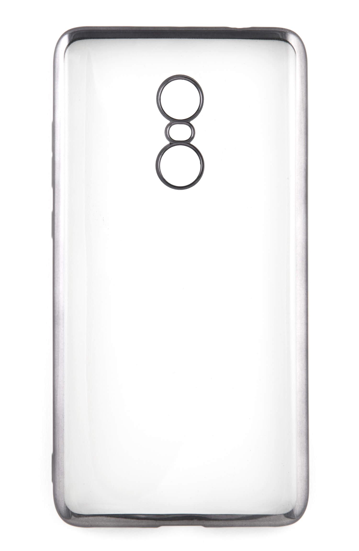 Накладка силикон iBox Blaze для Xiaomi Redmi Note 4 серебристый