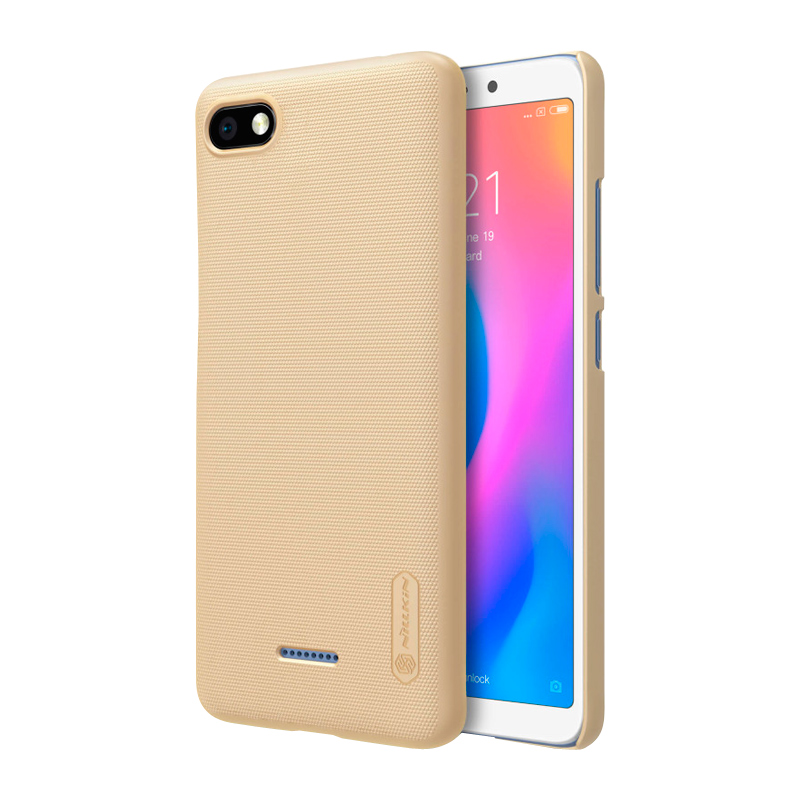 Защитный чехол Nillkin Super Frosted Shield для Xiaomi Redmi 6A Gold защитный чехол nillkin super frosted shield для xiaomi redmi note 5a prime gold