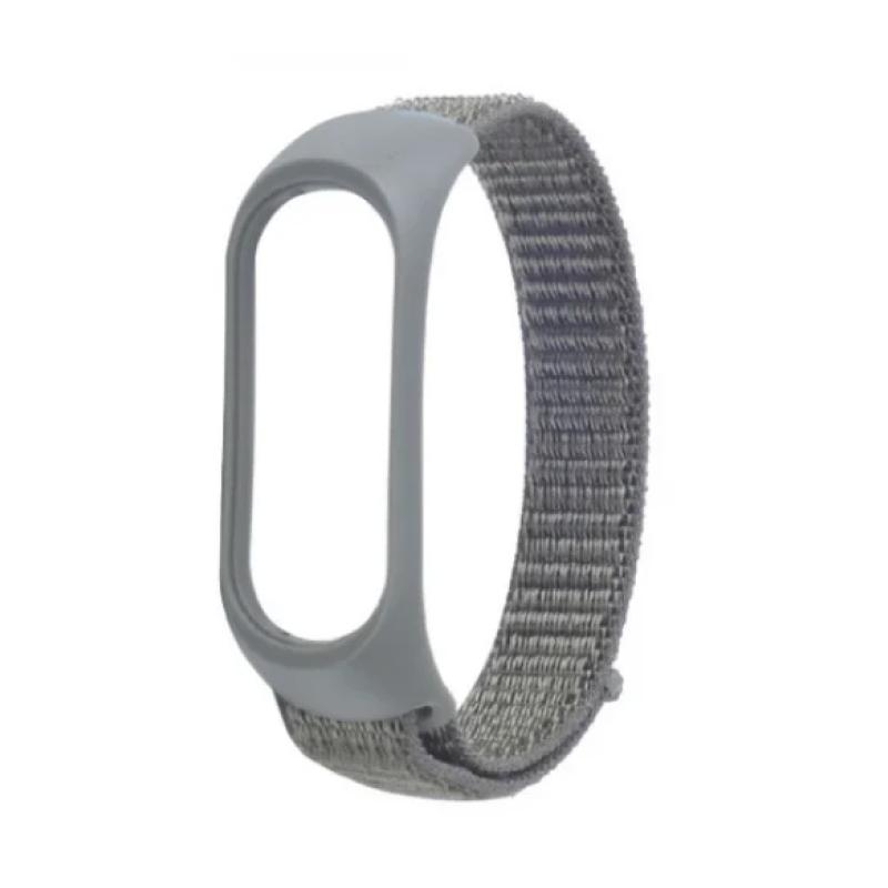 Nylon для Xiaomi Mi Smart Band 5 (серый)