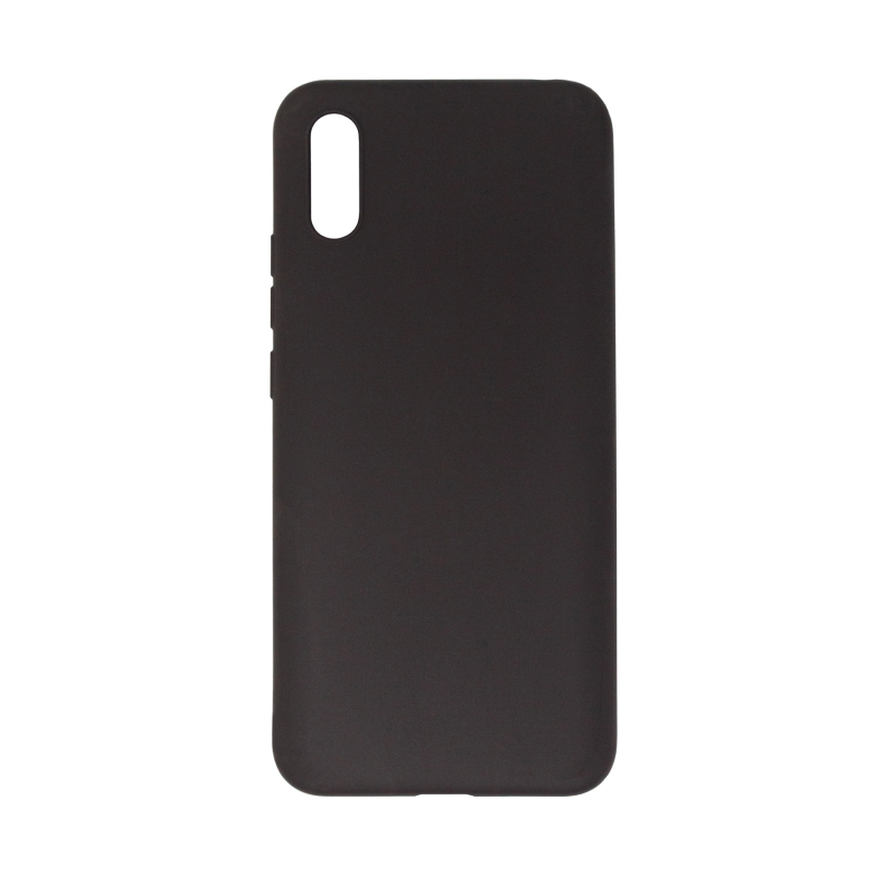 Чехол BoraSCO Microfiber Case для Xiaomi Redmi 9A (черный)