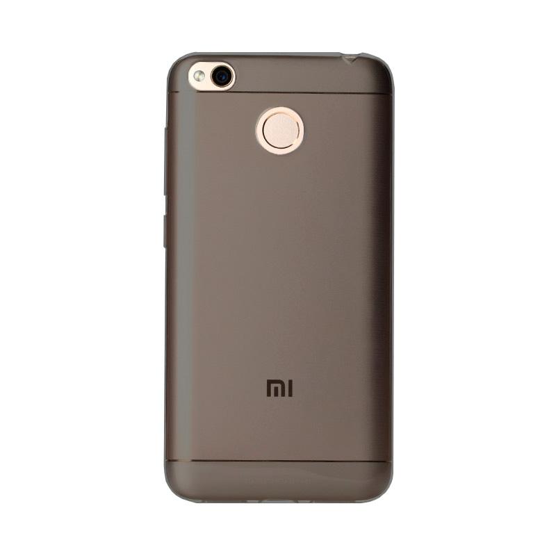 Силиконовая накладка – кейс для Xiaomi Redmi 4X (черный)