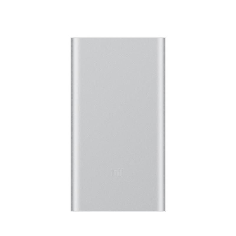 Внешний аккумулятор Mi Power Bank 2 10000 мАч silver аккумулятор red line rs 12000 power bank 12000mah silver ут000015559