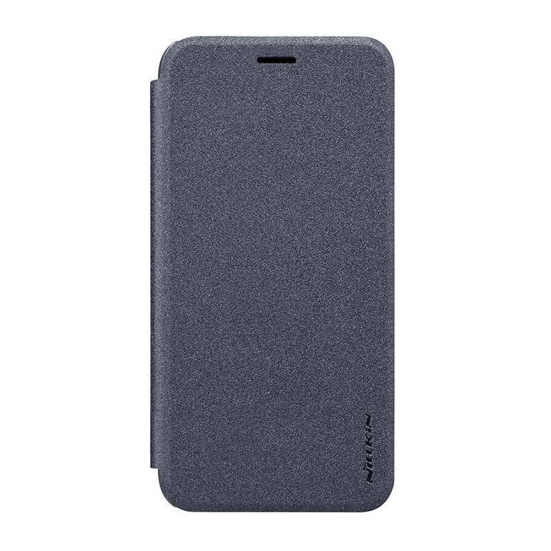 Чехол-книжка для Redmi Note 8 Pro Nillkin Sparkle (черный) цена и фото