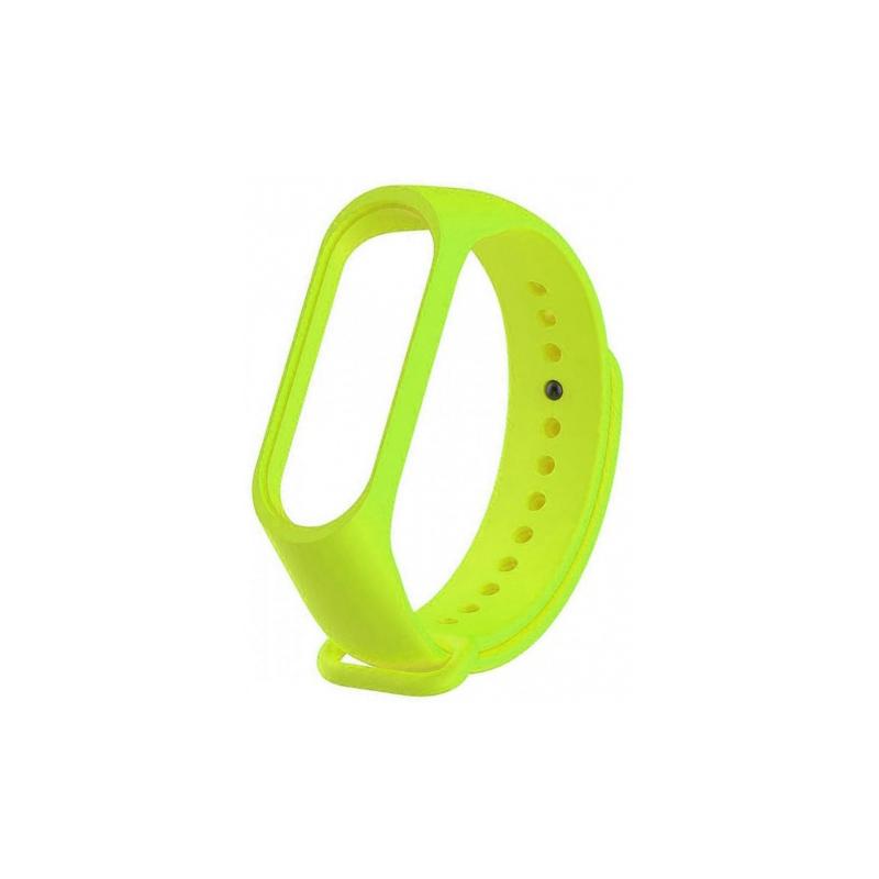 Силиконовый ремешок для Xiaomi Mi Band 3 Untamo Green aксессуар силиконовый ремешок red line for xiaomi mi band 3 turquoise