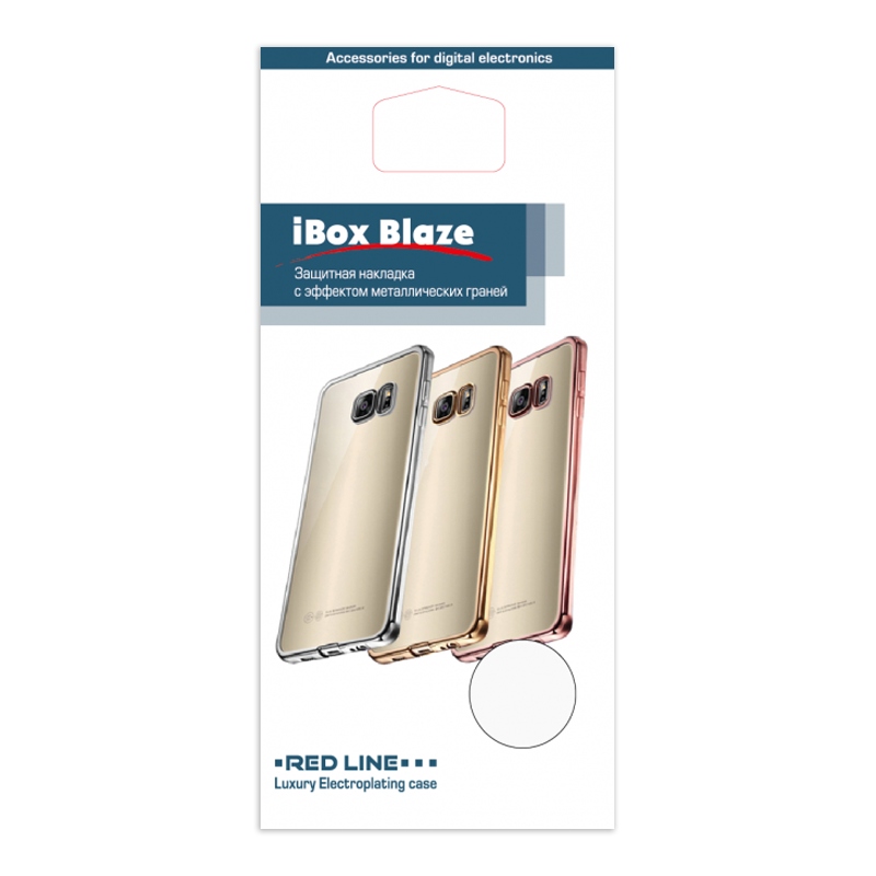 Накладка силикон iBox Blaze для Xiaomi Redmi 4X Black аксессуар чехол xiaomi redmi 4x ibox blaze silicone silver frame