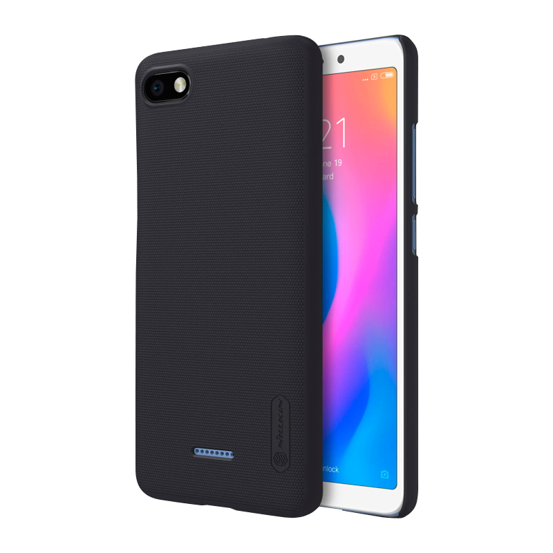 Защитный чехол Nillkin Super Frosted Shield для Xiaomi Redmi 6A Black чехол nillkin super frosted shield для xiaomi redmi note 4 black