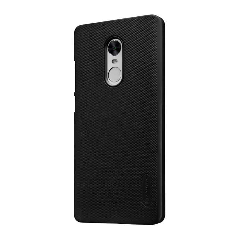 Чехол Nillkin Super Frosted Shield для Xiaomi Redmi Note 4X Black чехол книжка dyp casual wallet для xiaomi redmi note 5a prime черный