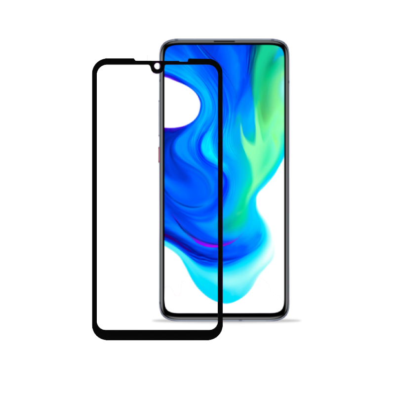 BLUEO 2,5D Full Cover HD для Xiaomi Redmi 9 (черная рамка) фото