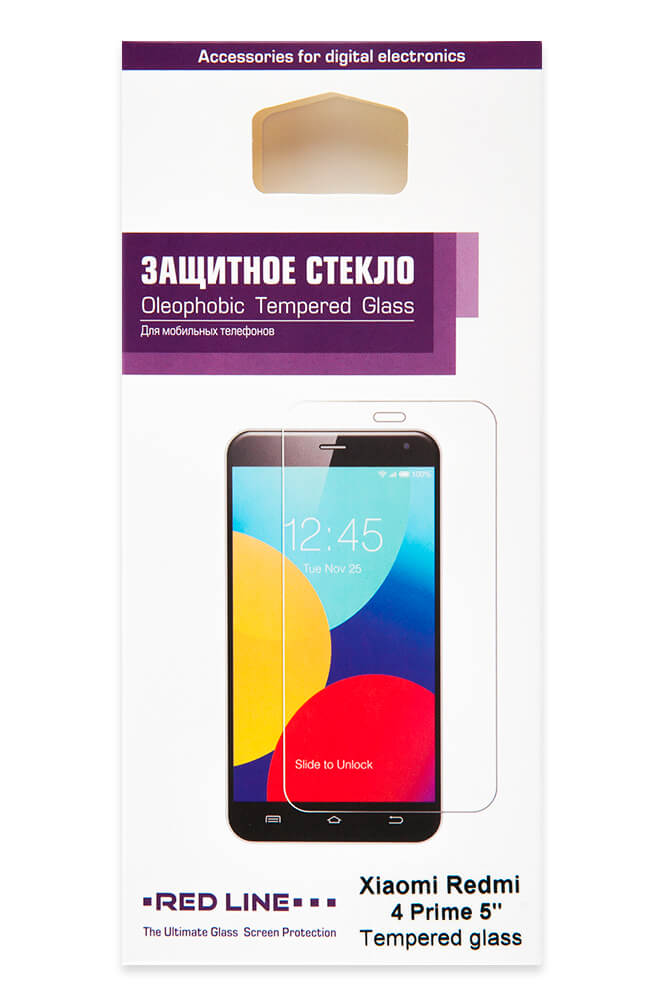 Защитный экран Xiaomi Redmi 4 Prime 5 tempered glass original xiaomi tempered glass for xiaomi redmi note 5