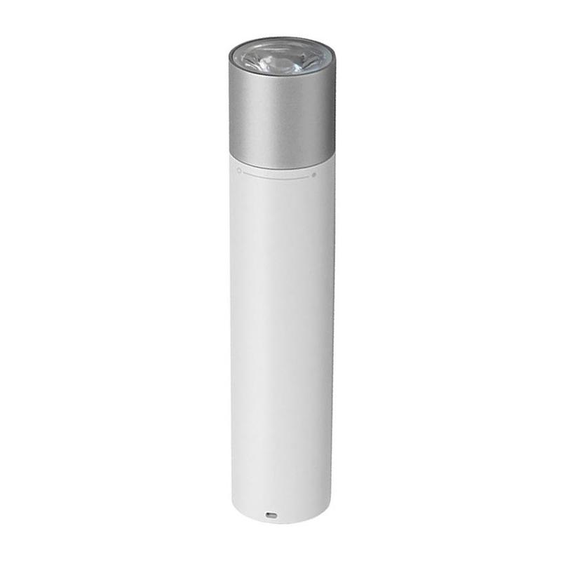 Mi Power Bank Flashlight 3250 мА*ч (белый) цена 2017