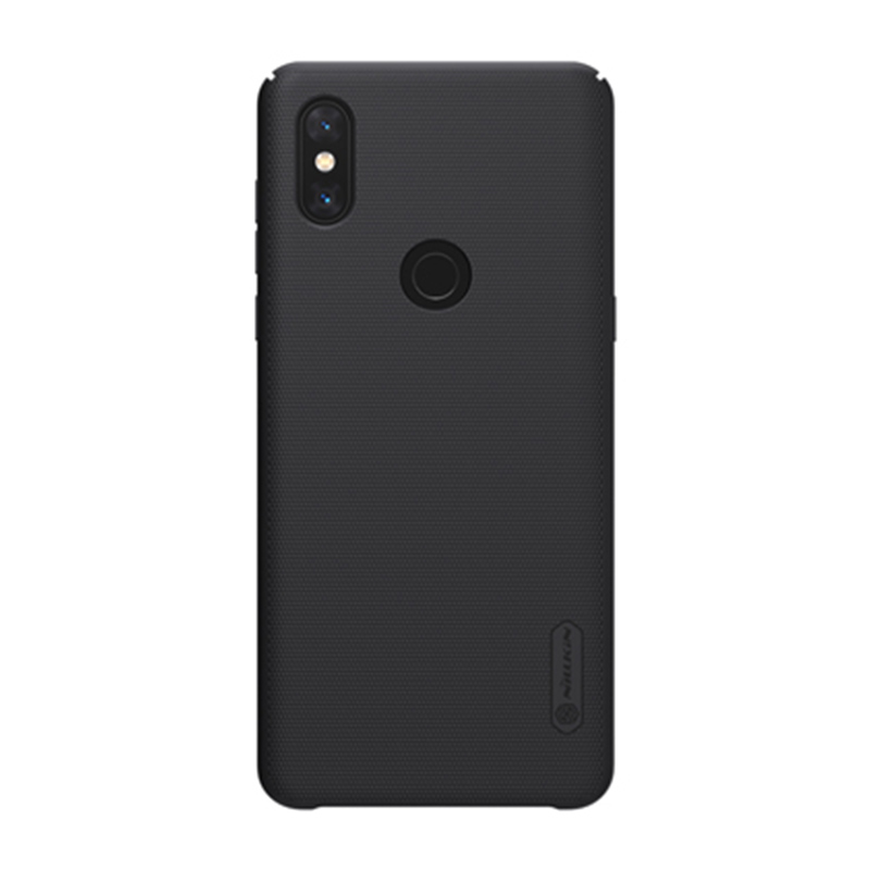 Защитный чехол Nillkin Super Frosted Shield для Mi Mix 3 Black защитный чехол nillkin super frosted shield для xiaomi mi 8 white