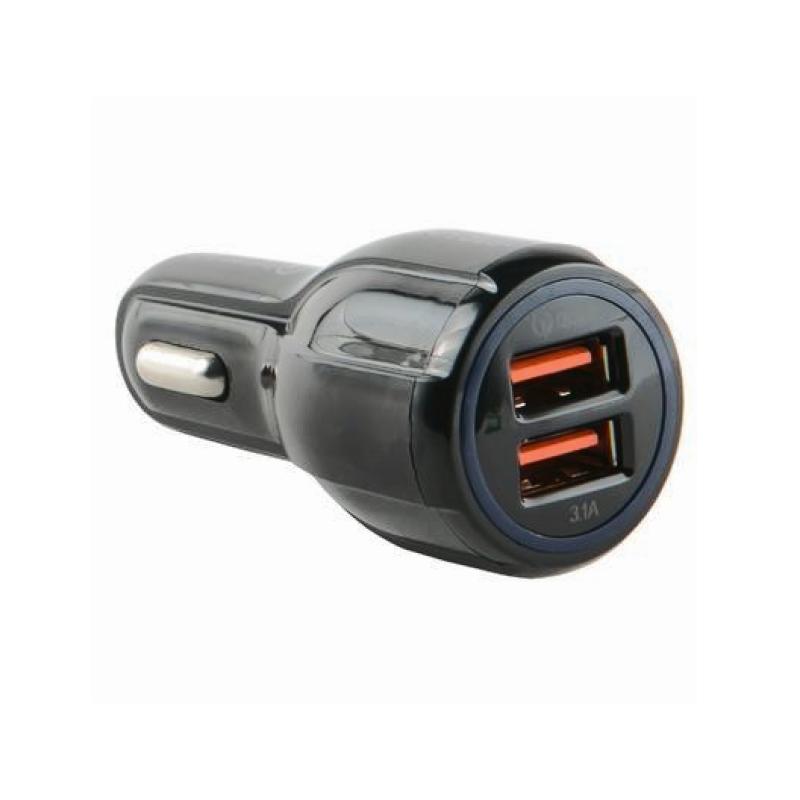 Автомобильная зарядка Red Line 2 USB (AC2-30) QC 3.0 (черный)