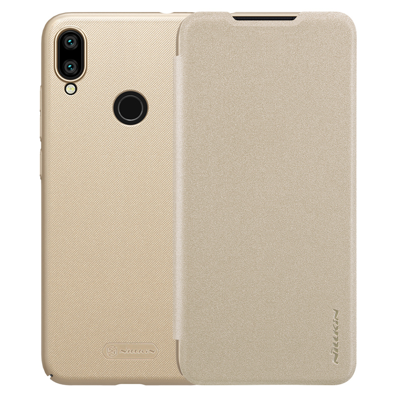 Фото - Чехол - книжка Nillkin Sparkle для Xiaomi Redmi Note 7 Gold чехол