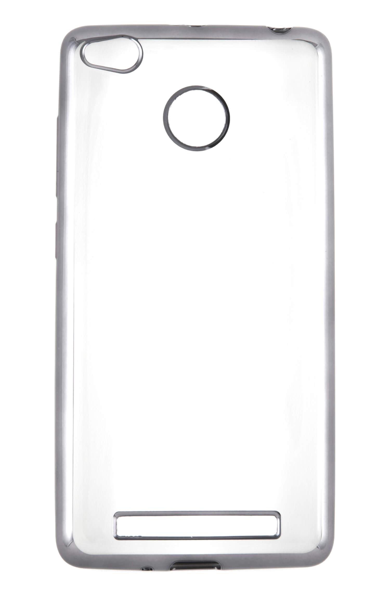 Накладка силикон iBox Blaze для Xiaomi Redmi 3/3s/3 Pro серебристый защитный экран xiaomi redmi 3 3s 3 pro 5 tempered glass