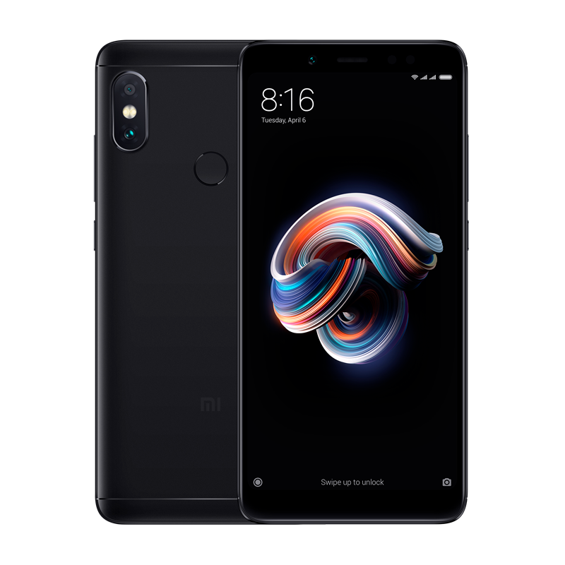 Redmi Note 5 3/32 Black цена и фото