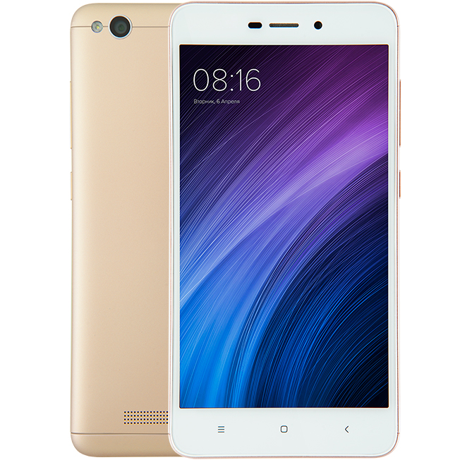 Redmi 4A 16GB Gold смартфон xiaomi redmi 4a 16gb gray