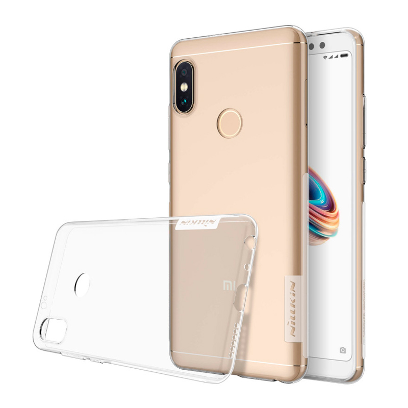 Силиконовая накладка Nillkin для Xiaomi Redmi Note 5 White original xiaomi tempered glass for xiaomi redmi note 5