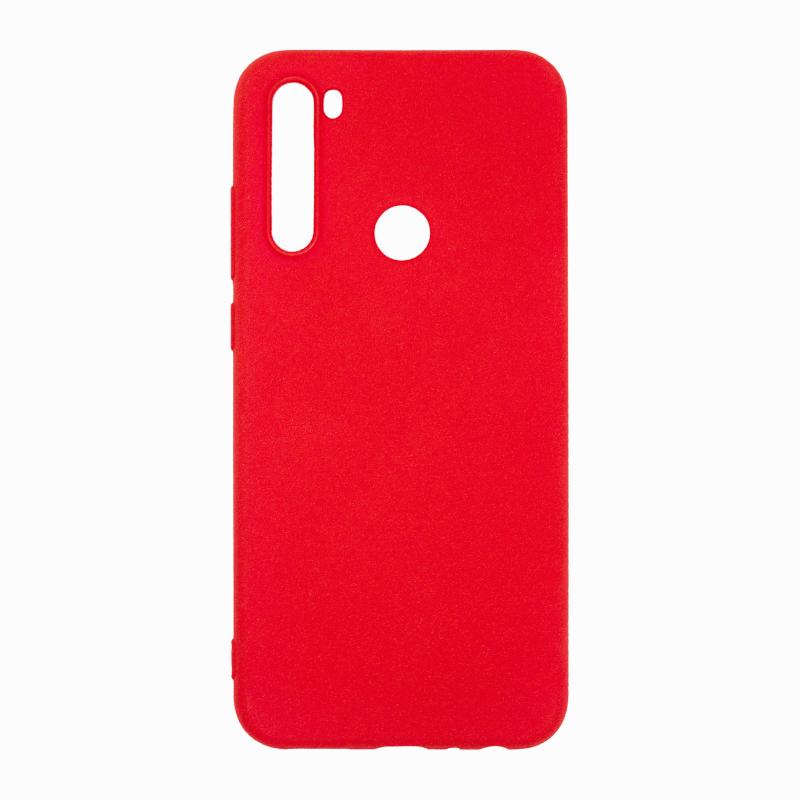 NewLevel Fluff TPU Hard для Xiaomi Redmi Note 8T (красный) фото