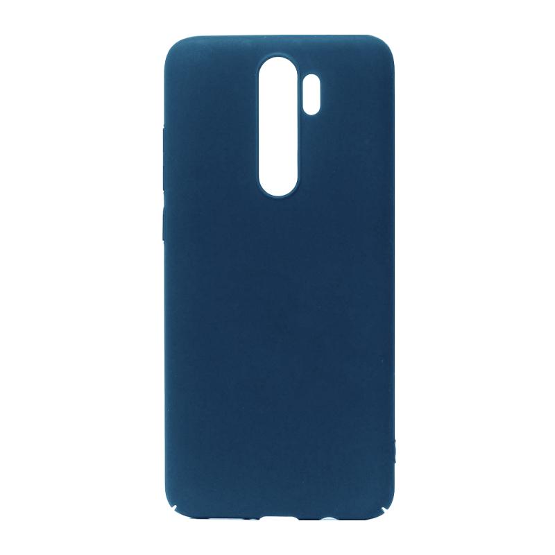 NewLevel Fluff TPU Hard для Xiaomi Redmi Note 8 Pro (синий)