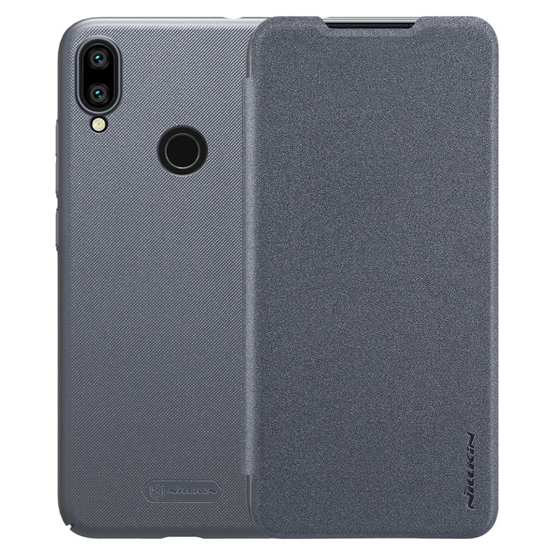 Чехол - книжка Nillkin Sparkle для Xiaomi Redmi Note 7 Grey аксессуар чехол xiaomi mi5 cojess silicone 0 3mm grey