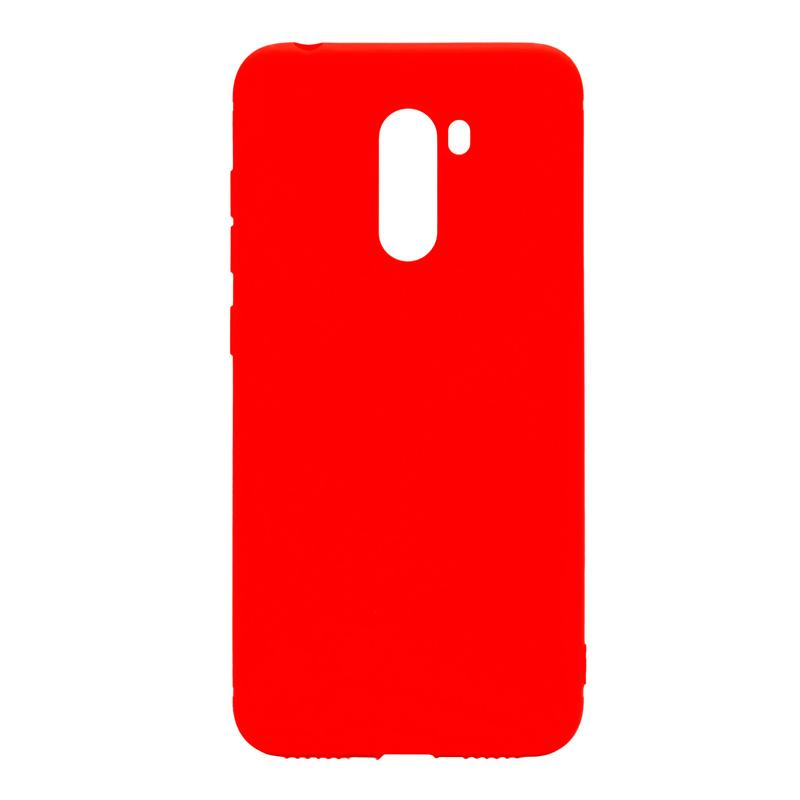 Защитный чехол Mate для Xiaomi Pocofone F1 Red защитный чехол mate для xiaomi mi 8 pro red