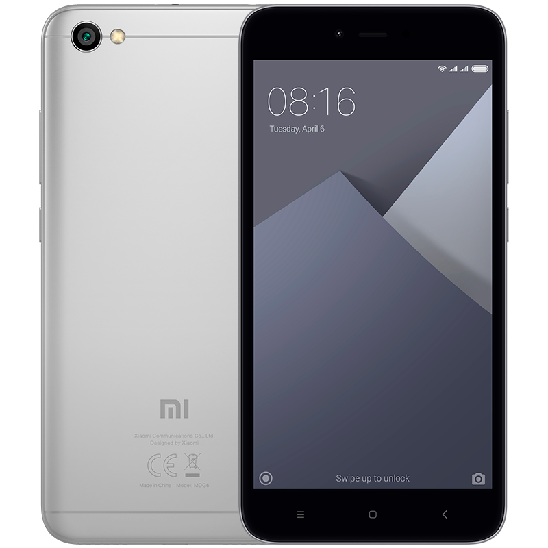 Redmi Note 5A Gray redmi note 5a gray