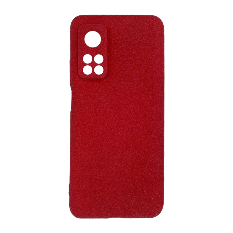 Fluff TPU Hard для Xiaomi Mi 10T/Mi 10T Pro (красный)