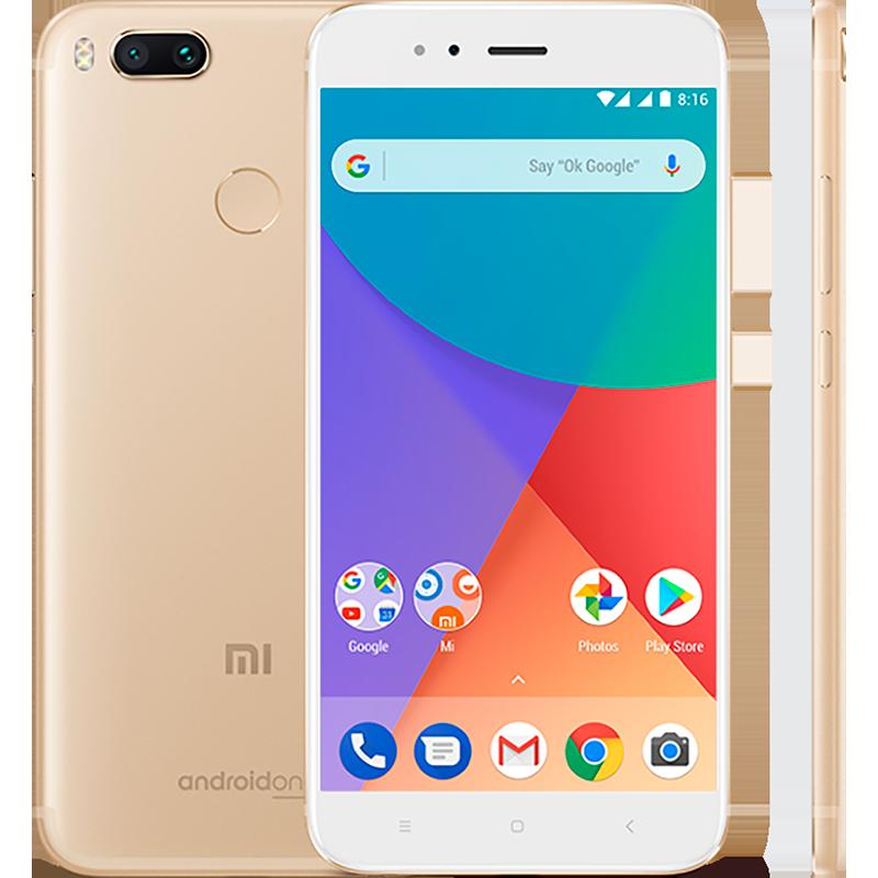 Mi A1 32GB Gold смартфон xiaomi mi a1 32gb gold