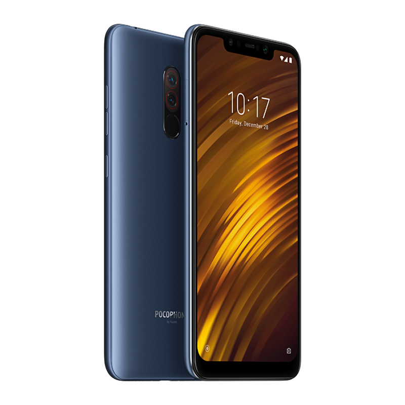 Pocophone F1 6/64 Blue аксессуар чехол для xiaomi pocophone f1 innovation book silicone magnetic rose gold 13449